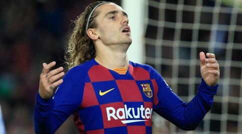 אנטואן גריזמן מאוכזב (La Liga)