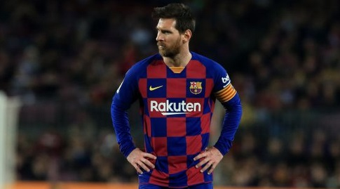 ליאו מסי. אייטור עומד טוב בשער (La Liga)