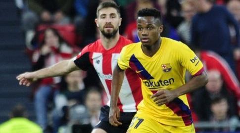 אנסו פאטי עם הכדור (La Liga)