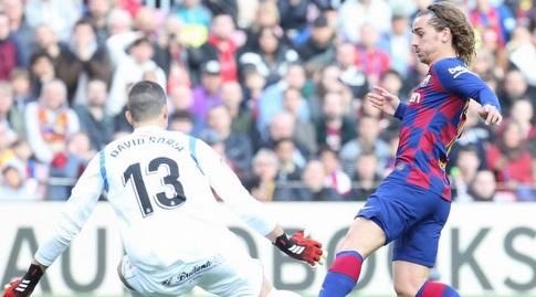 אנטואן גריזמן מול דויד סוריה (La Liga)
