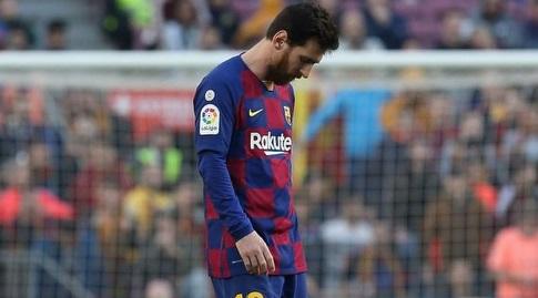 ליאו מסי מאוכזב. משחק רביעי ברציפות ללא שער בליגה (La Liga)