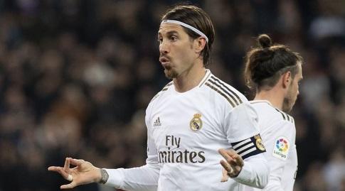 סרחיו ראמוס חוגג (La Liga)