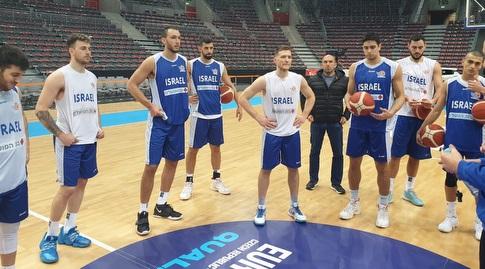 אימון נבחרת ישראל (חגי סגל, איגוד הכדורסל)