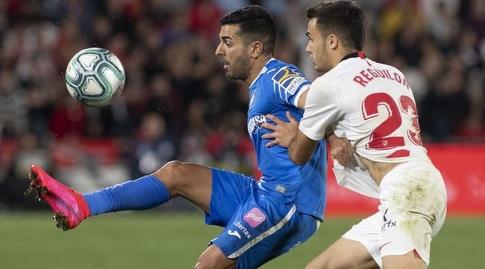 אנחל עם הכדור (La Liga)
