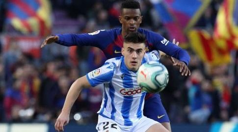 נלסון סמדו במאבק עם אנדר ברנצ'אה (La Liga)