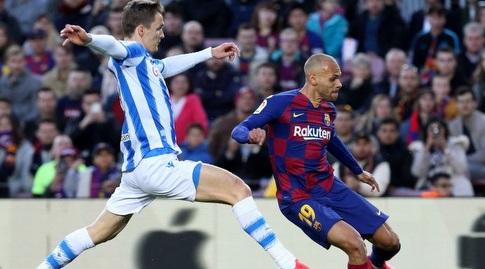 מרטין בריית'ווייט בועט (La Liga)