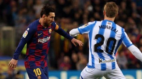 נאצ'ו מונריאל מול ליאו מסי (La Liga)