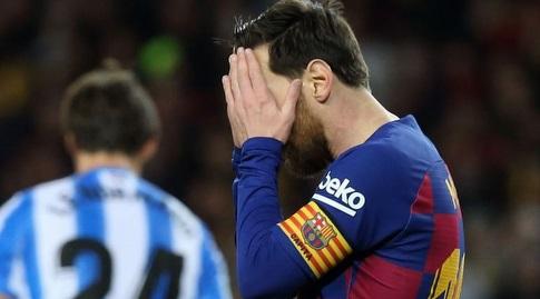 ליאו מסי מאוכזב (La Liga)
