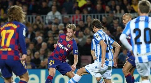פרנקי דה יונג עם הכדור (La Liga)