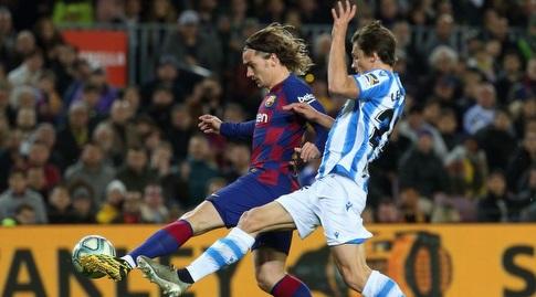 אנטואן גריזמן בועט (La Liga)