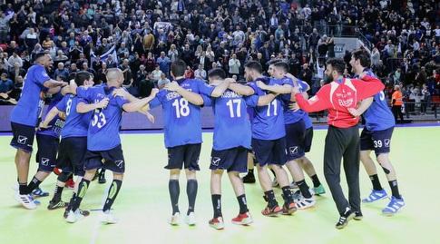 נבחרת ישראל בכדוריד (צילום: הדר ואן קולא, איגוד הכדוריד)