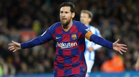 """ליאו מסי חוגג. """"אם הוא יעזוב זו לא תהיה דרמה"""" (La Liga)"""