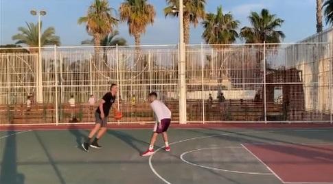 איגור קולשוב מתאמן עם חברים (אינסטגרם)