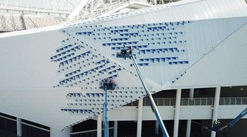 אצטדיון בלומפילד, 25.3.2020 (רדאד ג'בארה)