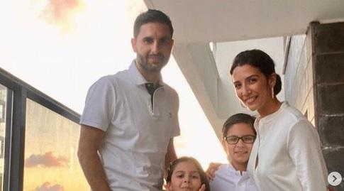 גיא חיימוב ומשפחתו (אינסטגרם)