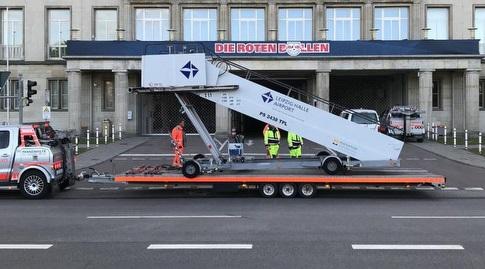 המדרגות הנעות (האתר הרשמי של לייפציג)