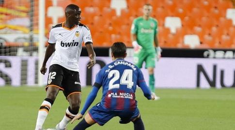 מוחטאר דיאקבי עם הכדור (La Liga)