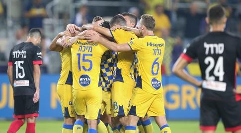 הפועל חיפה הייתה הבאה בתור והובסה 3:0 על ידי האלופה הדוהרת (רדאד ג'בארה)