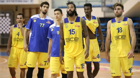 שחקני מכבי אשדוד בהלם (רדאד ג'בארה)