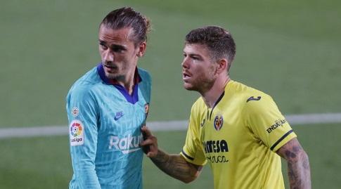 אנטואן גריזמן עם אלברטו מורנו (La Liga)