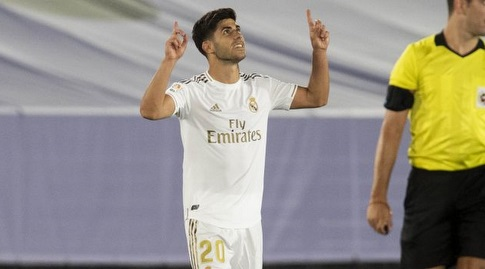 מרקו אסנסיו חוגג (La Liga)