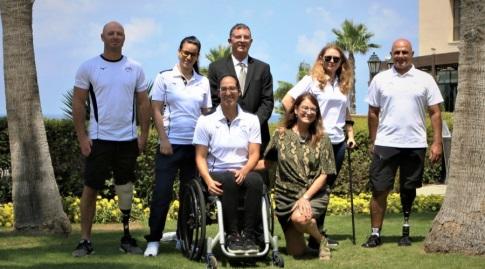 הספורטאים הפראלימפיים (קרן איזיקסון)