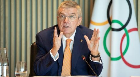 """תומאס באך, """"מצב החירום ביפן לא ישפיע על המשחקים האולימפיים"""" (רויטרס)"""