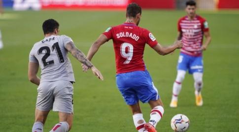 רוברטו סולדאדו נשמר על ידי אנדר קאפה  (La Liga)