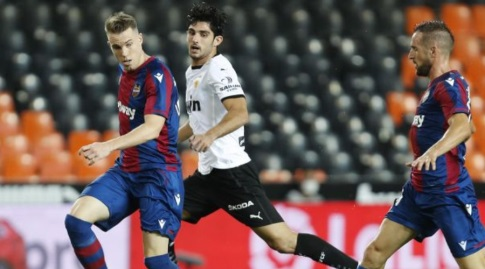 גדש במהלך המשחק (La Liga)