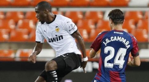 ז'ופרי קונדוגביה עם הכדור (La Liga)
