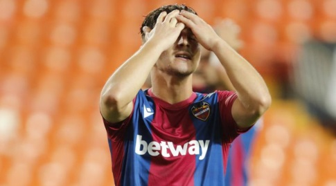 אניס ברדי מאוכזב (La Liga)