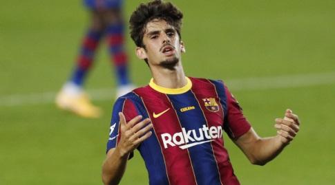 טרינקאו. למרות הכישרון, טרם מצא את המקום שלו בברצלונה (רויטרס)