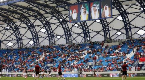 אצטדיון אל מכתום של אל נאסר (רויטרס)