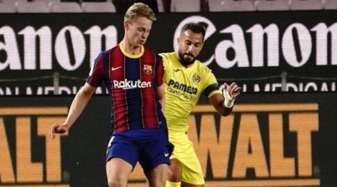 פרנקי דה יונג מוסר (La Liga)