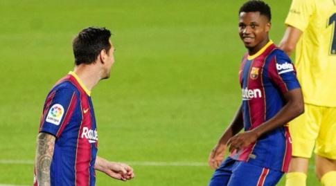 אנסו פאטי וליאו מסי. החיבור ביניהם היה מעולה (La Liga)