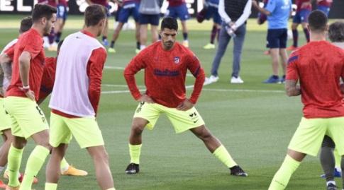 לואיס סוארס בחימום (La Liga)