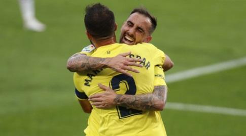 פאקו אלקסר חוגג עם מריו גספאר (La Liga)