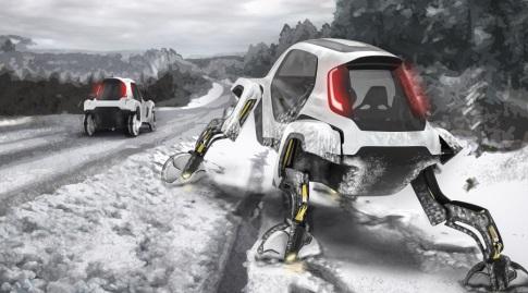 גם בתנאי שלג לא פשוטים (אתר יונדאי העולמי)