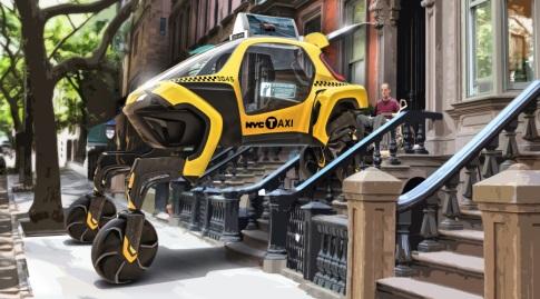 מונית על המדרכה כבר אמרנו? (אתר יונדאי העולמי)