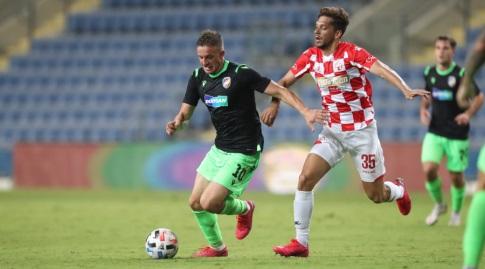 מריאנו בריירו במשחק מול ויקטוריה פלזן (רדאד ג'בארה)