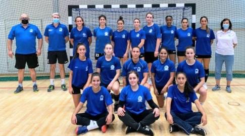 נבחרת ישראל נשים (צילום הדר ואן קולא איגוד הכדוריד)