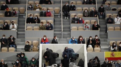 הקהל ברולאן גארוס בשנה שעברה (רויטרס)