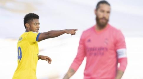 אנטוני לוסאנו חוגג, סרחיו ראמוס מאוכזב (La Liga)