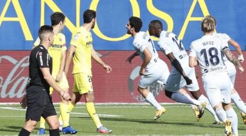 שחקני ולנסיה בטירוף עם גונסאלו גדש (La Liga)