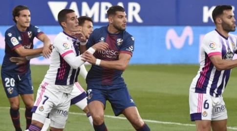 רפא מיר נאבק בין שחקני ויאדוליד (La Liga)