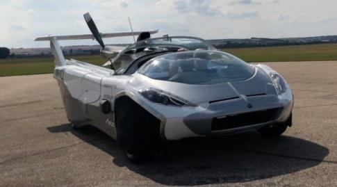 ה-Air Car כשהיא בתור מכונית (האתר הרשמי)