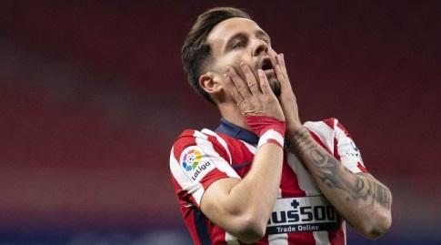 סאול ניגס מאוכזב (La Liga)