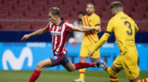 מרקוס יורנטה בועט (La Liga)