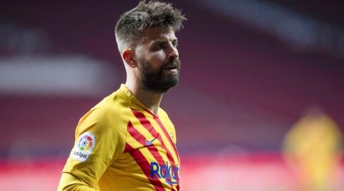ג'רארד פיקה מאוכזב (La Liga)