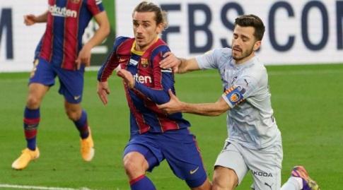 חוסה גאיה מכשיל את אנטואן גריזמן (La Liga)